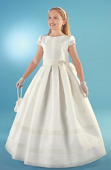 Elegancia estilo vestidos de primera comunion coleccion carmy