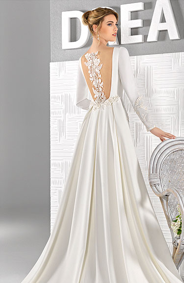 407f73d63 SiguienteSiguiente. Firma  Amanecer Nupcial  Modelo  19D17. Consultar  precio del vestido  ← Volver al catálogo de novia